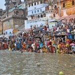 8300766-varanasi-india--29-october-2009-an-unidentified-group-of-indian-people-wash-themselves-in-the-river-