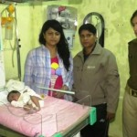 new born baby found on street kanpur
